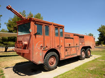 Old fire engine Royalty Free Stock Images