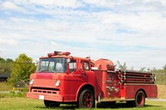 Old fire engine Stock Photos