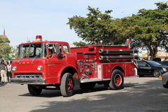 Old fire engine Royalty Free Stock Photography