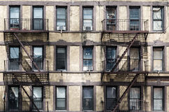 Old Fire Escape royalty free stock photography