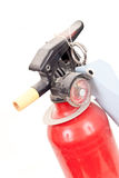 Old Fire Extinguisher Stock Photo