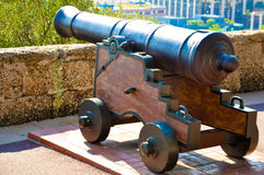 Old fire gun Royalty Free Stock Image