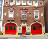 Old Fire Hall Stock Images