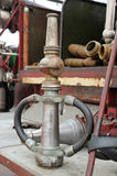 Old fire hoses Royalty Free Stock Photos