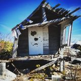 Old Fire Shack royalty free stock image