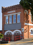 Old fire station. Old victorian style fire department Royalty Free Stock Image