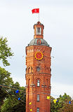 Old fire tower with clock (1911), Vinnytsia Stock Photos