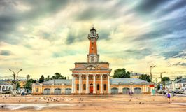 Free Old Fire Tower In Kostroma, Russia Royalty Free Stock Image - 100608376