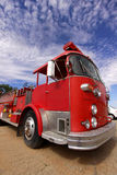 Old fire truck Stock Images