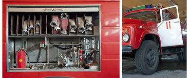 Free Old Fire Truck Stock Image - 20718081