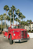 Old Fire Truck. City of Temple Old Fire Truck Parked at Street Festival, Arizona Royalty Free Stock Image