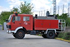 Old fire truck Stock Photo