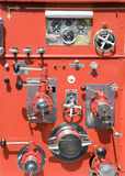 Old Fire Truck Controls Stock Photos