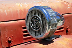Old fire truck horn Royalty Free Stock Images