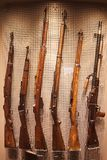 Old firearms of Nazi Germany during the second world war stock photography