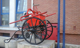 Old Firefighter Machine Royalty Free Stock Images