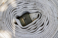 Old Firehose Stock Photo