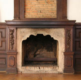 Old fireplace Stock Photos