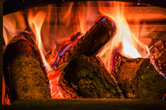 Old fireplace Royalty Free Stock Image