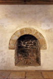 The old fireplace Royalty Free Stock Photo