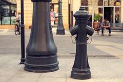 Old fireplug on the street Royalty Free Stock Photo