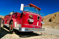 Old firetruck Stock Photos
