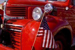 Old Firetruck Royalty Free Stock Photography