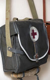 Old First Aid Bag Royalty Free Stock Images