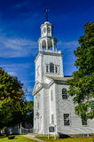 Old First Church. First Congregational Church of Bennington, & x22;Vermont& x27;s Colonial Shrine,& x22; was the first church in Vermont dedicated to separation Royalty Free Stock Photo