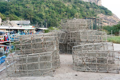 Old fish trap Stock Image
