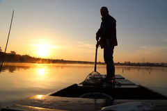 The old fisherman Stock Photography