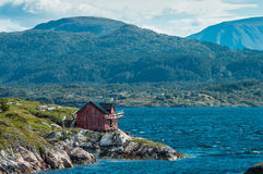 Old fisherman's house Stock Photos