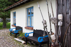 Old fishermans house Royalty Free Stock Image