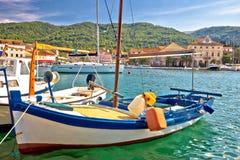 Old fishermen harbor of Stari Grad Royalty Free Stock Photos