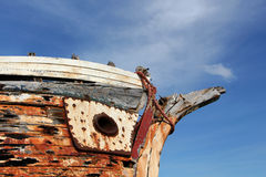 Old Fishermen S Boat, Detail Stock Images