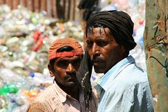 Old fishermen. Royalty Free Stock Photos