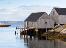 Old Fishersmans Hut Royalty Free Stock Image