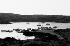 Old Fishing Bay Royalty Free Stock Photo