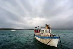 Free Old Fishing Boat Stock Image - 13332881