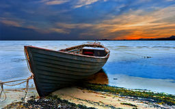Old fishing boat Stock Photography
