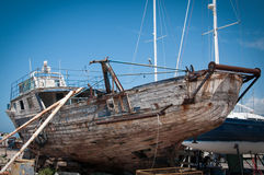 Old fishing boat Royalty Free Stock Image
