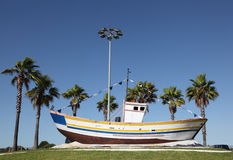 Old fishing boat Royalty Free Stock Photography