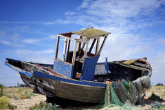 Old fishing boat. Stock Images