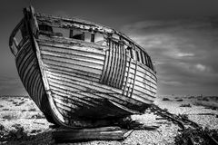 Old fishing boat. Royalty Free Stock Photography