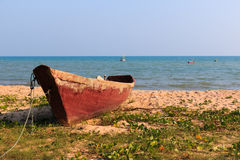 Old Fishing boat Stock Photo
