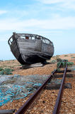 Old Fishing Boat Dungeness Royalty Free Stock Photography