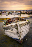 Old fishing boat near Poole Quay Stock Photography
