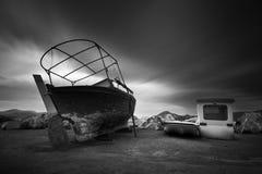 Old fishing boat. Stock Image