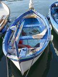 Old fishing boat. In portovenere Royalty Free Stock Photos