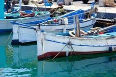 Old fishing boat in Sardinia Royalty Free Stock Photo